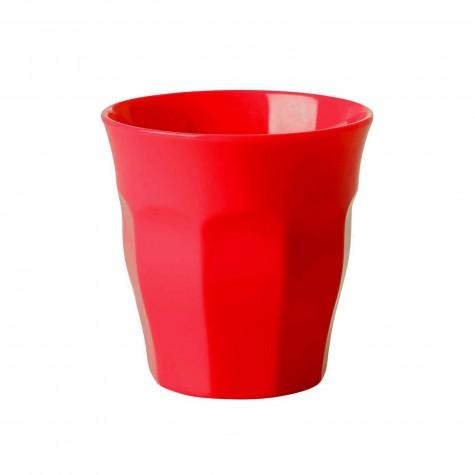 Bicchiere piccolo in melamina rossa