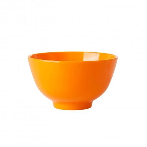 Tazza da colazione in melamina arancione