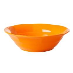 Piatto fondo arancione