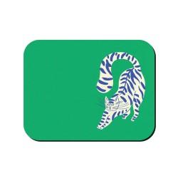 Tovaglietta americana verde fantasia gattone