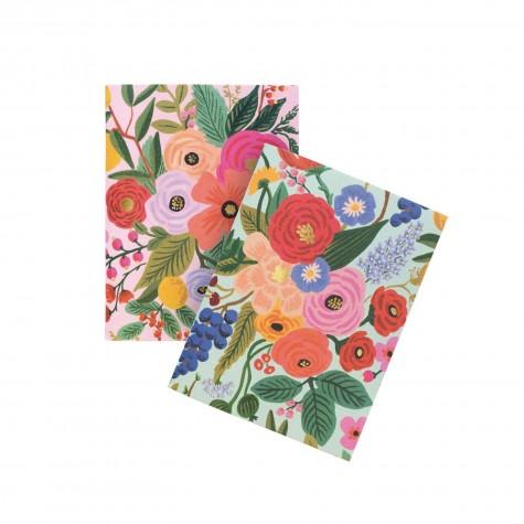 Set di taccuini fantasia floreale