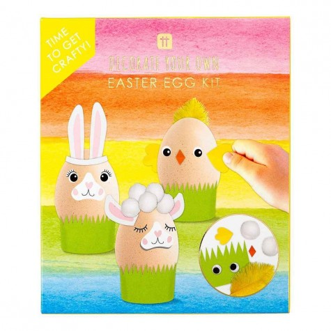 Kit per decorare ovetti di Pasqua