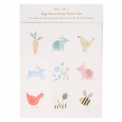 Tatauggi decorativi per uova di Pasqua