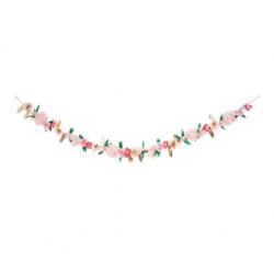 Ghirlanda di rose di carta