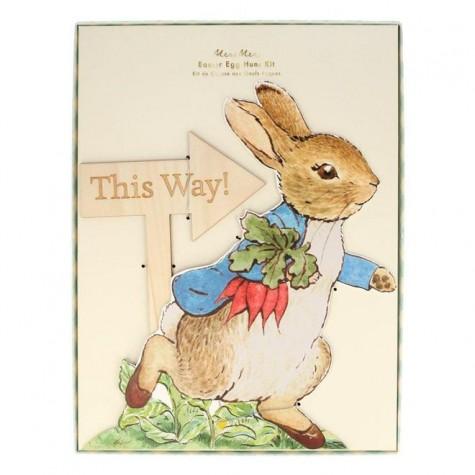 Kit per la caccia all'uovo di Pasqua Peter Rabbit