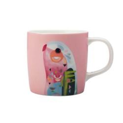 Tazza mug rosa pastello...