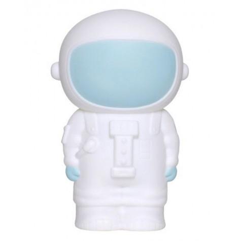 Salvadanaio bimbo a forma di astronauta