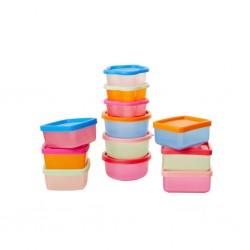 Set contenitori da cucina in forme e colori assortiti