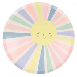 Piatti Sole Arcobaleno