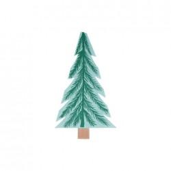 Tovaglioli di carta a forma di albero