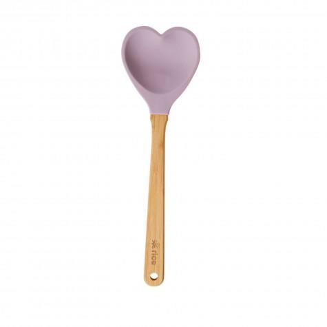 Cucchiaione da cucina cuore lavanda