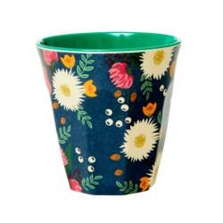 Bicchiere in melamina fantasia bouquet floreale