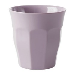 Bicchiere in melamina tinta unita lavanda
