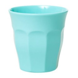 Bicchiere medio in melamina color menta