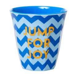 Bicchiere bimbo fantasia a zig-zag Jump for Joy