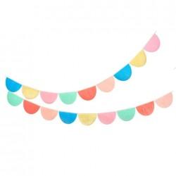 Ghirlanda di capesante multicolor