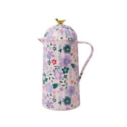 Caraffa termica rosa fantasia floreale 1 L