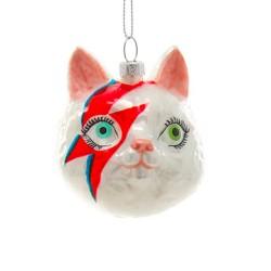 Decorazione a forma di Meowie Bowie