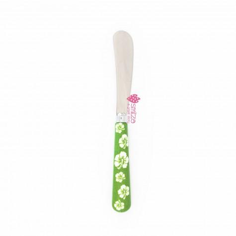 Spalmaburro piccolo a fiori - verde