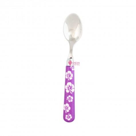 Cucchiaino moka a fiori - viola