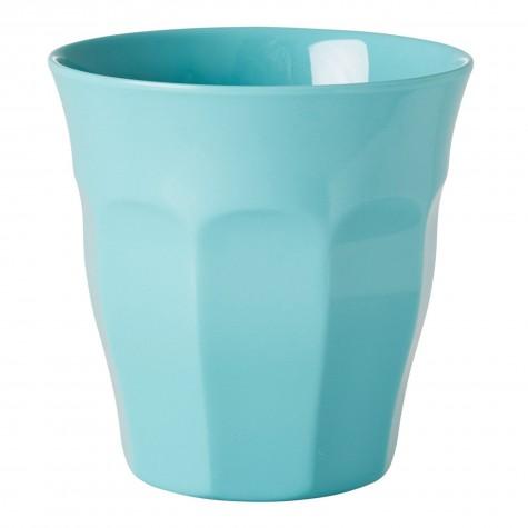 Bicchiere medio tinta unita - verde acqua