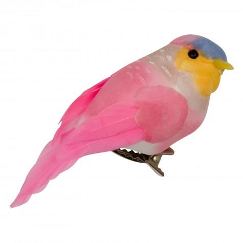 Uccellino decorativo con clip