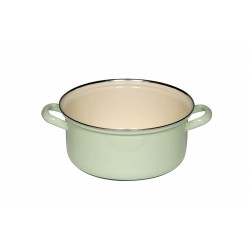 Casserole with two handles - green