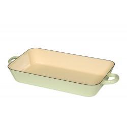 Rectangular baking dish - green