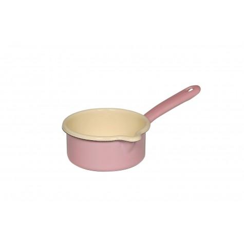 Casseruola con manico e beccuccio - rosa