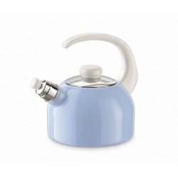Waterkettle with whistle - blue