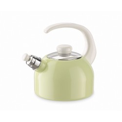 Waterkettle with whistle - green