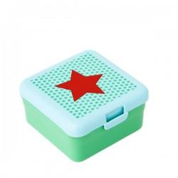 Porta pranzo piccolo - stella rossa