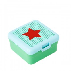 Small lunch box - red star