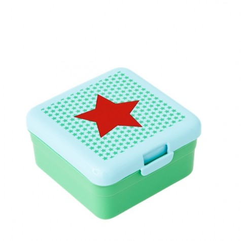 Lunch box piccolo - stella rossa