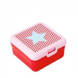 Lunch box piccolo - stella azzurra