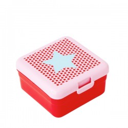 Small lunch box - blue star