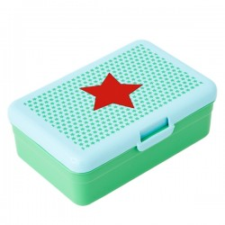 Large lunch box - red star