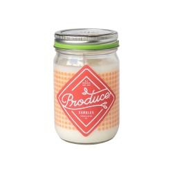 Candela in cera di soia al pomodoro