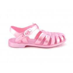 Sandali adulto - rosa metallico
