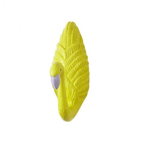 Appendiabiti fenicottero - giallo