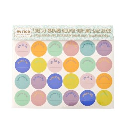 Stickers adesivi removibili