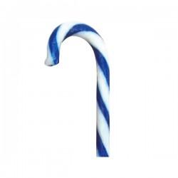 Candy Cane Monocolore Blu-Bianco