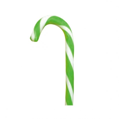 Candy Cane Monocolore Verde-Bianco