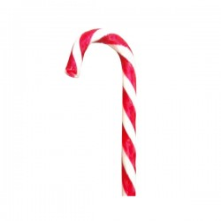 Candy Cane Monocolore Rosso-Bianco