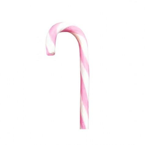 Candy Cane Monocolore Rosa-Bianco