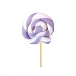 Tondo Monocolore lilla-bianco 25 g