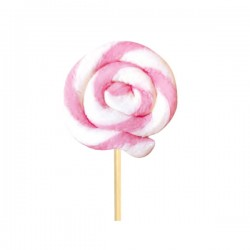 Tondo Monocolore rosa-bianco 25 g