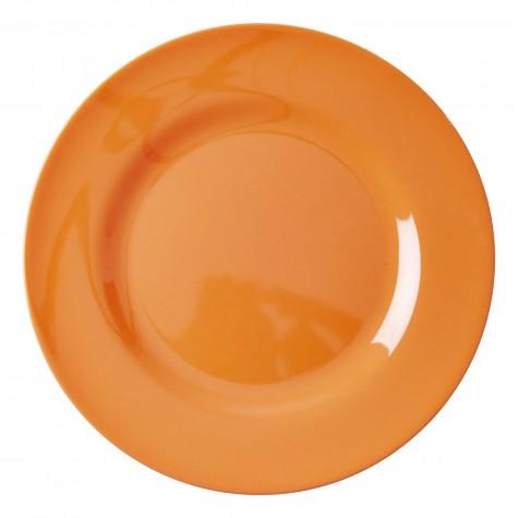 Piatto piano arancio neon