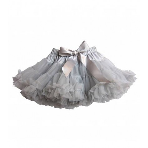 Girls Petticoat Tutu in Misty Grey