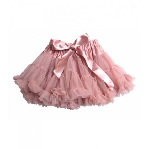 Girls Petticoat Tutu in Dusky Pink